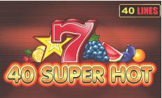 Super hot 40 logo
