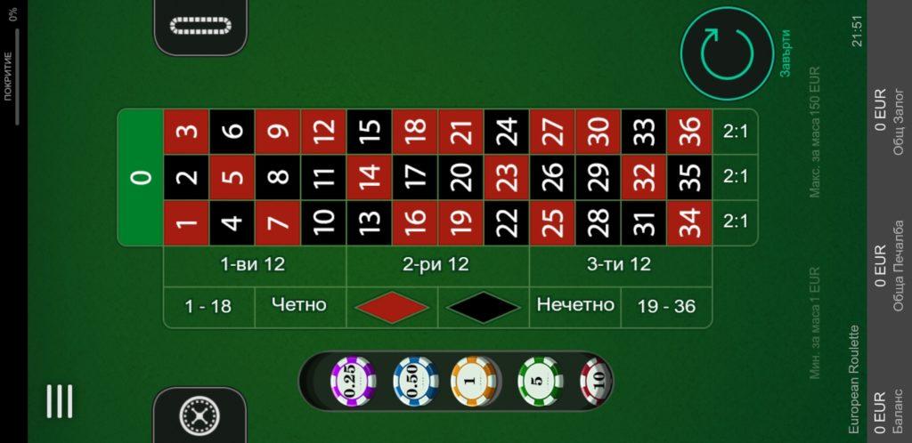 Online poker on the app of BET365