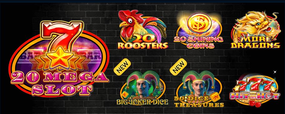 Online slots in casino Palmsbet