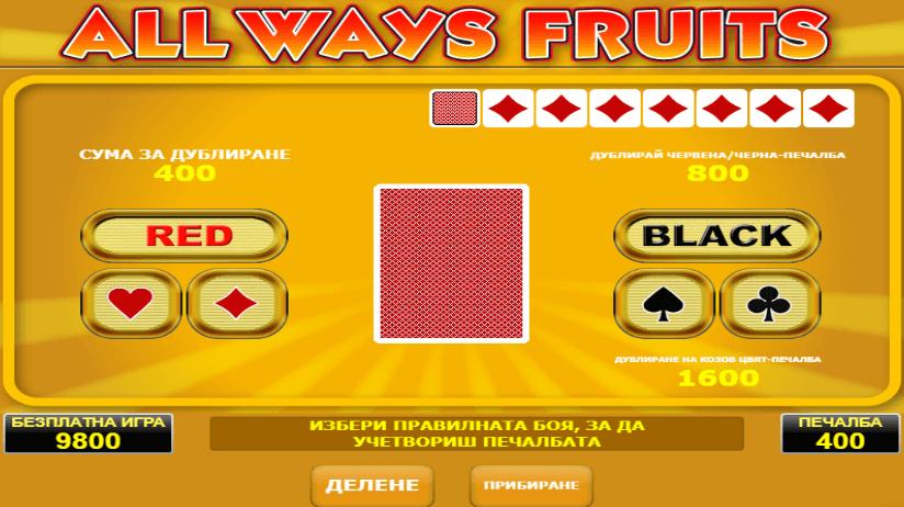 All ways fruits -ротативки с плодове