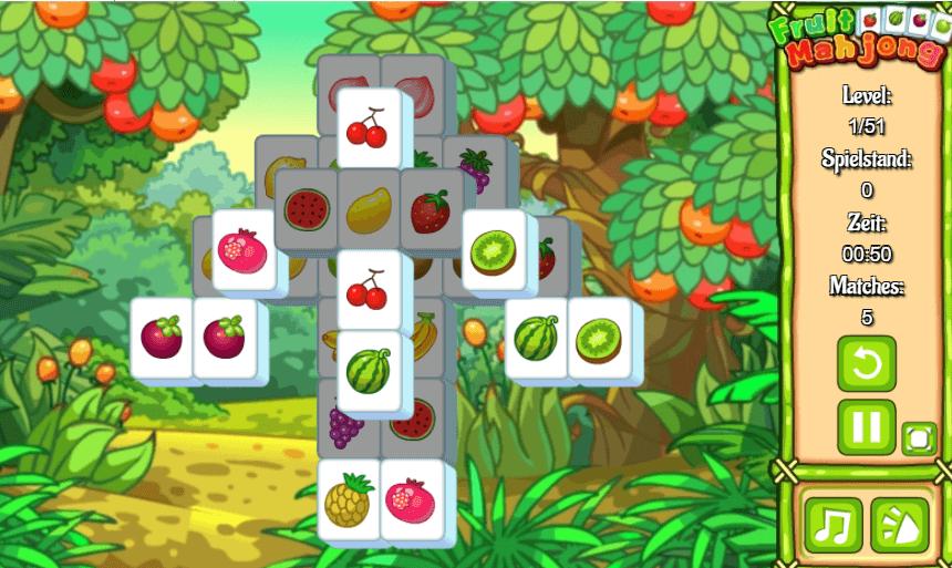 Маджонг онлайн плодове