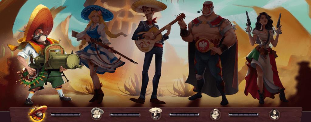 5Gringos Gamification-Figuren