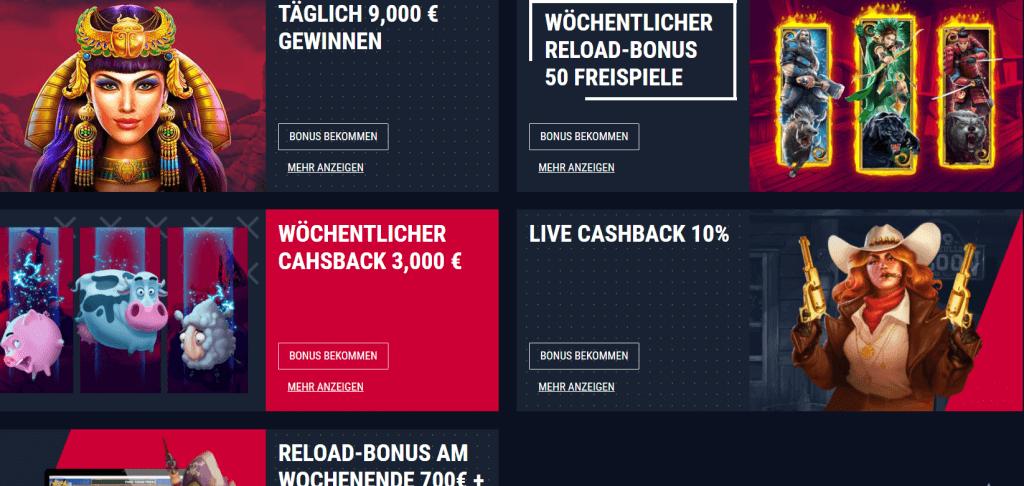 Rabona Casino Treueprogramm